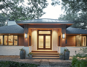 Mid Modern Home Additions Dallas