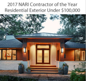2017 nari residential contractor of the Year