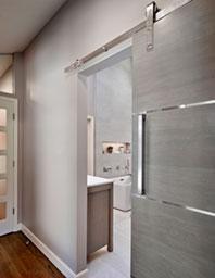 Bathroom Door Detail - After